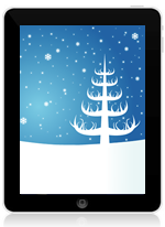 iPad christmas wallpaper