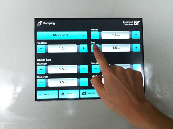 human machine interface touch screen