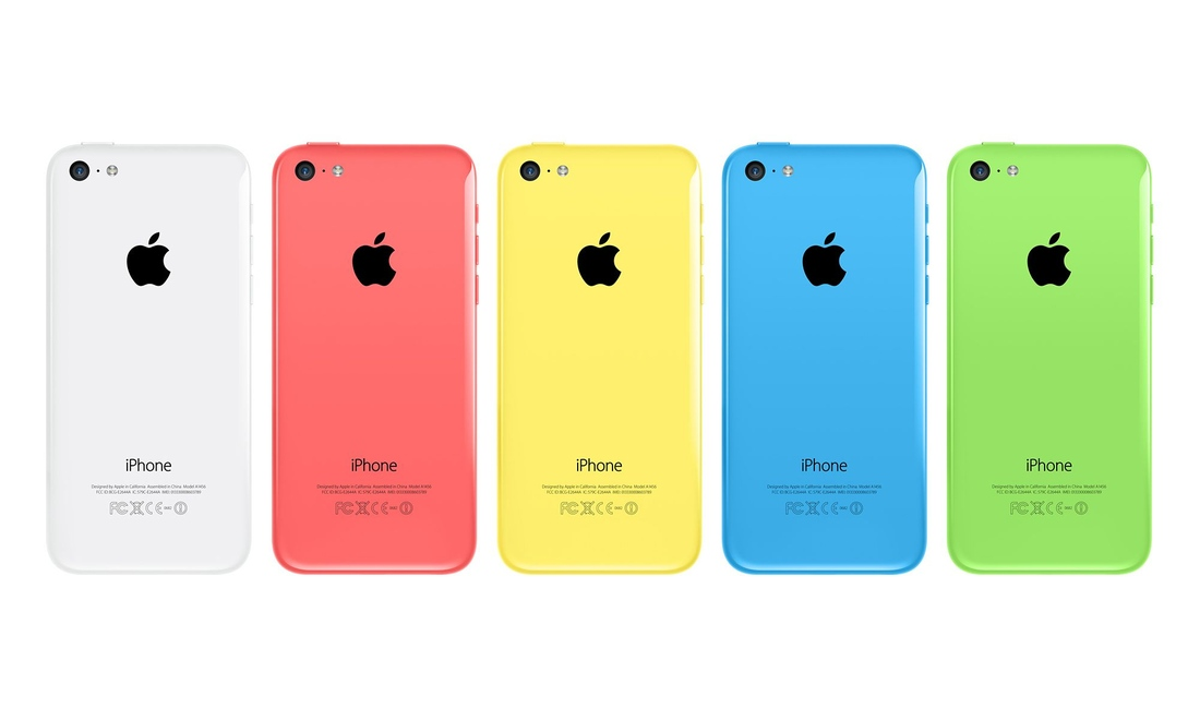 iphone5c colours