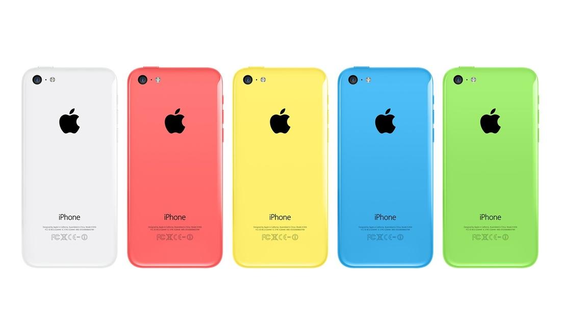 iphone5c colours