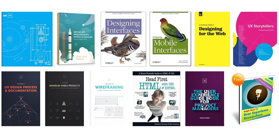 The Biggest list of 35 FREE UX Books - Learn UX