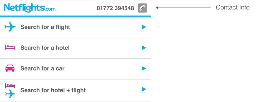 Netflights Contact Info