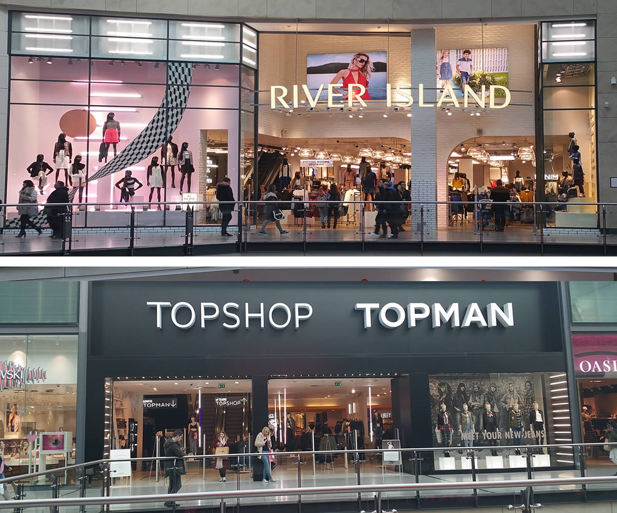 River Island / Top Shop