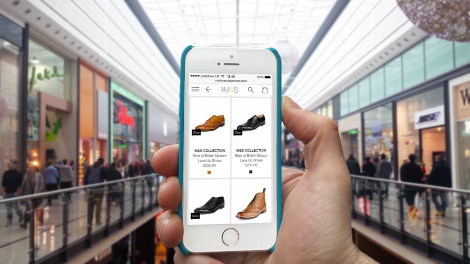 Mobile shopping CX