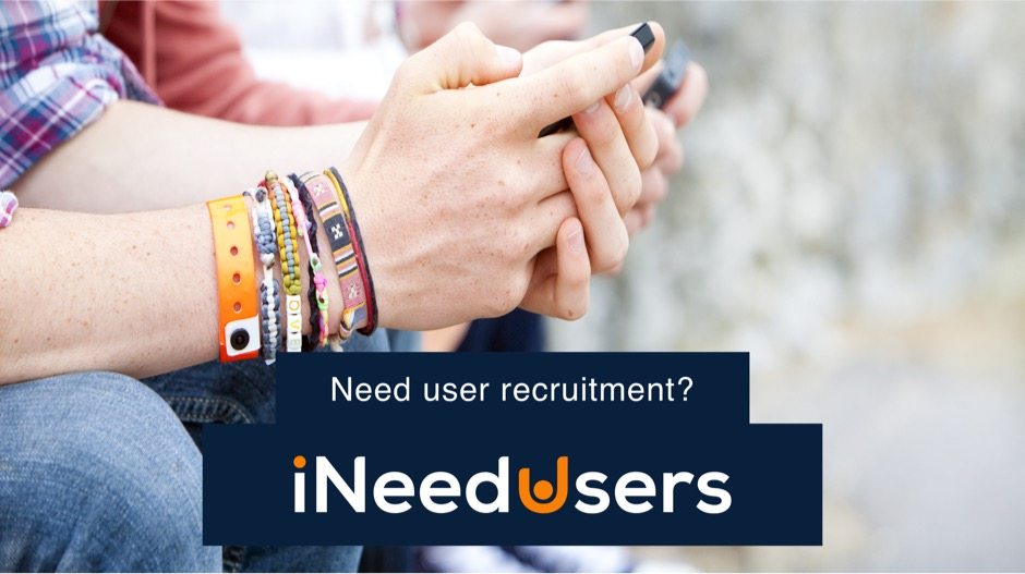 iNeedUsers UX user research participant recruitment specialists