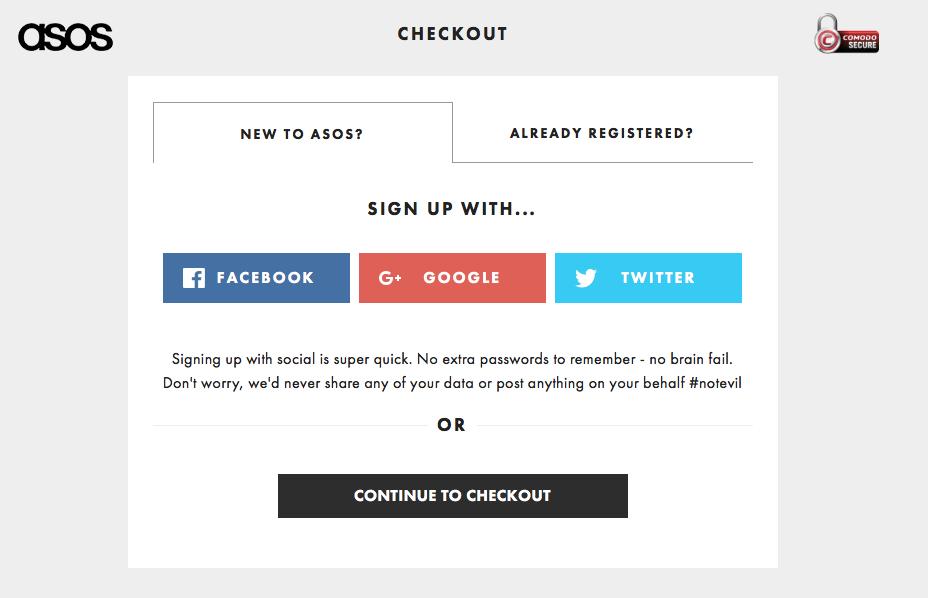 ASOS Checkout Conversion UX