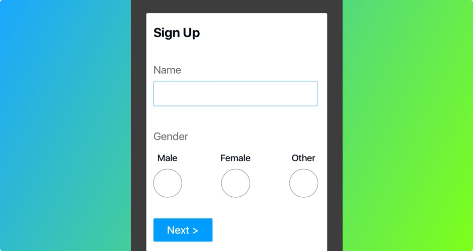 Mr, Ms or Mx? Inclusive form design for gender diversity - Learn UX