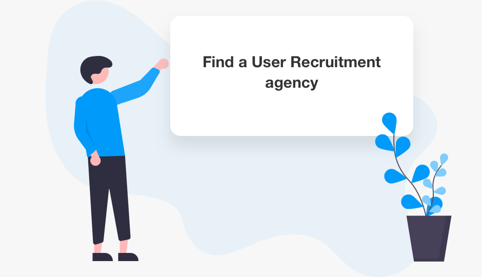 Fina a user recruitment agency