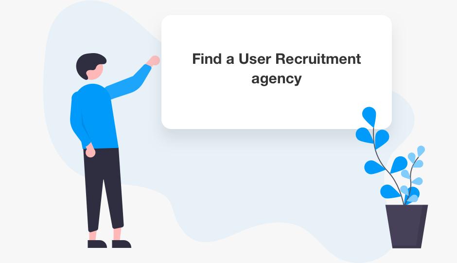 Fina a user recruitment agency